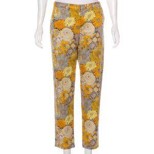 Jenni Kayne Floral Print Mid-Rise Pants